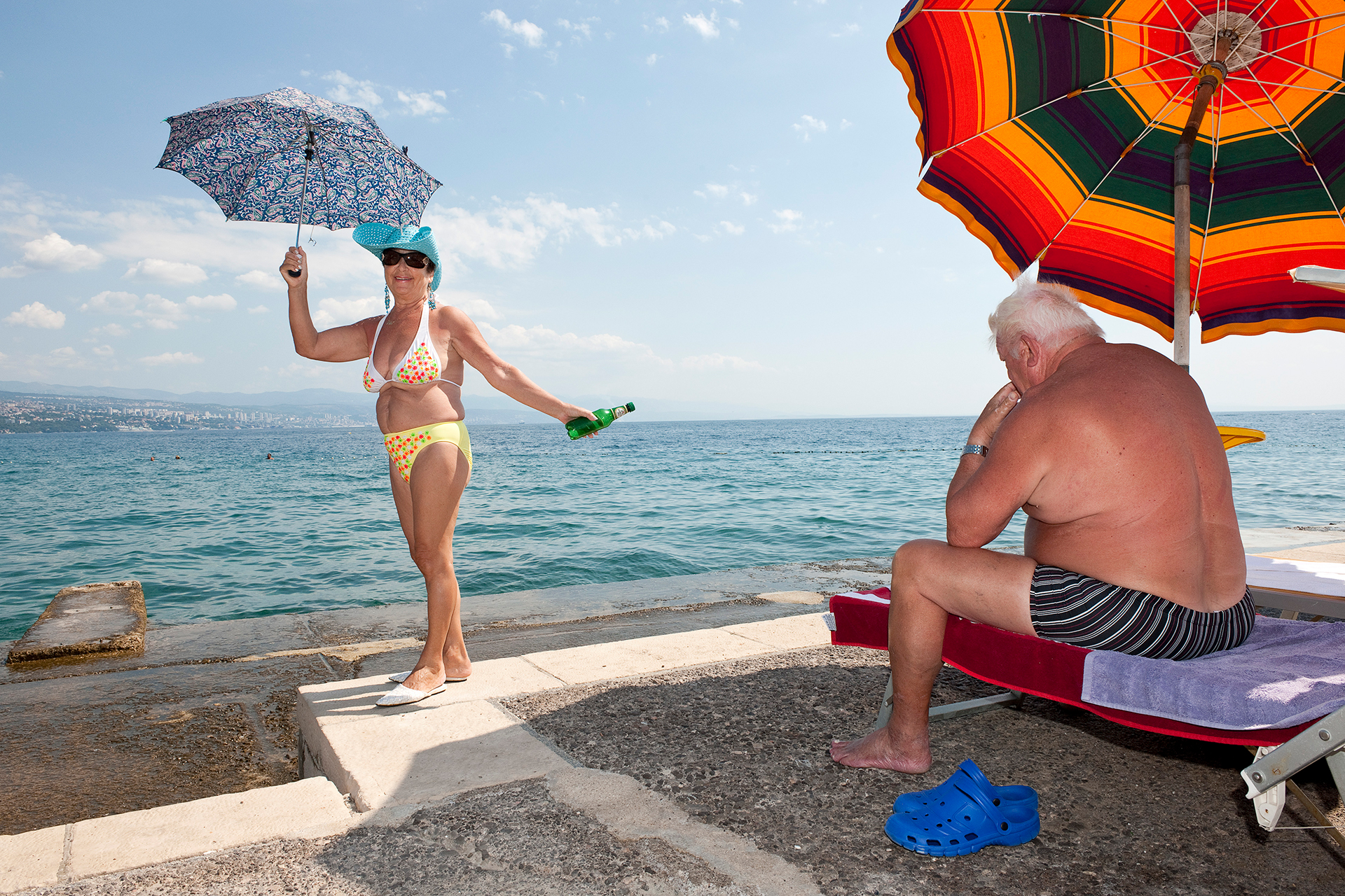 """Croatia"", dalla mostra ""Mediterranean. The continuity of man"" di Nick Hannes in mostra presso Villa Bottini a Lucca nell'ambito di Photolux 2017"