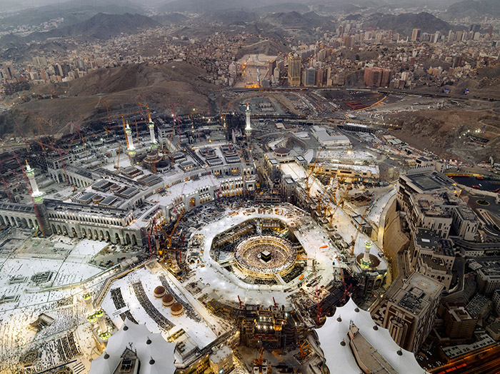Dalla mostra Mega Mecca di Luca Locatelli. © Luca Locatelli/Institute for The New York Times.