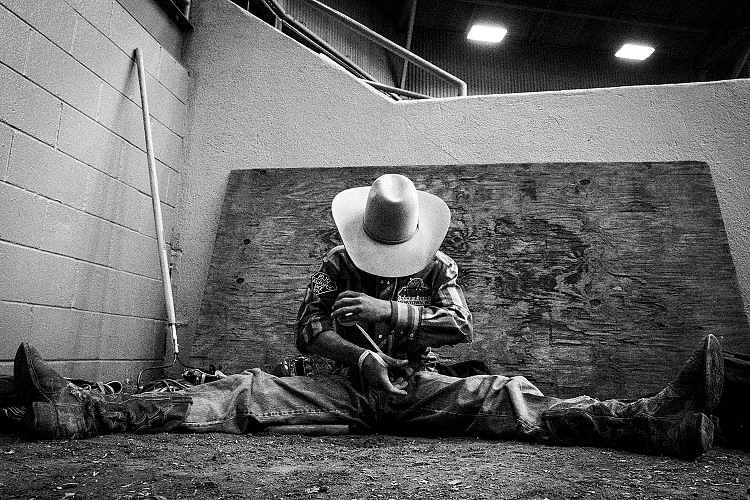 Nick Tauro Jr, Rodeo Nights. © Nick Tauro Junior.