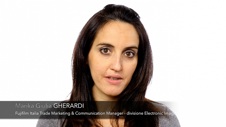 Marika Giulia Gherardi, Fujifilm Italia Trade Marketing & Comunication Manager - Divisione Electronic Imaging. © FPmag.