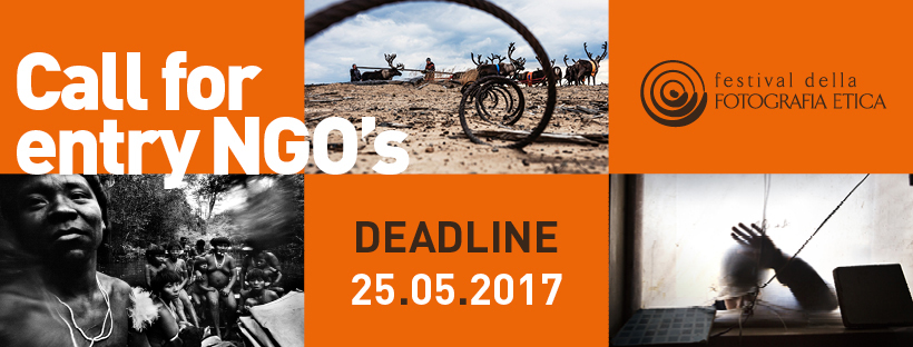 Festival della Fotografia Etica 2017 - Call for Entry per ONG