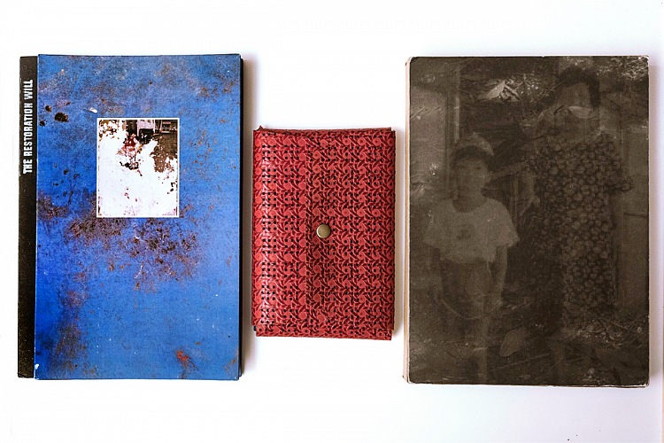 The dummy book Make a wish by Loulou d'Aki, winner of the Photobook Review and Prize 2017