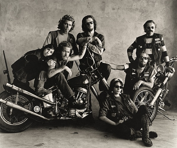 Irving Penn, Hell,s Angels, San Francisco, 1967. © The Irving Penn Foundation