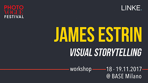 James Estrin: visual storytelling