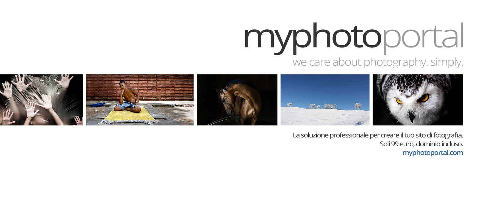 Myphotoportal.com - we care about photography. simply.