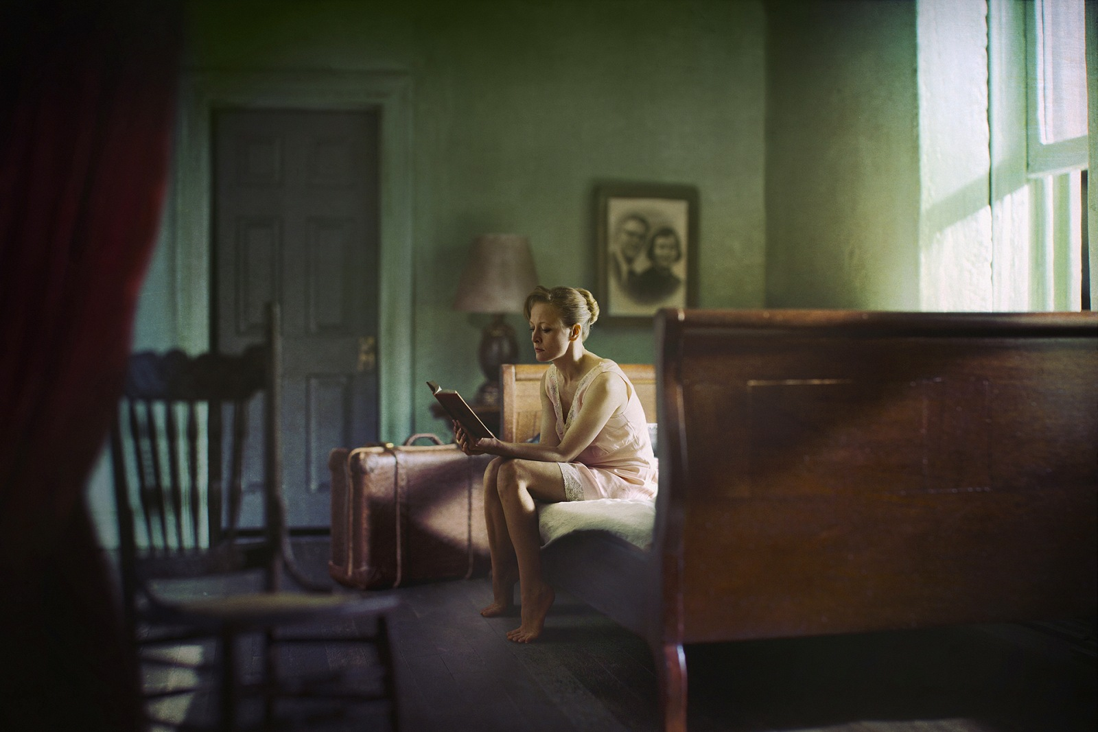 Woman Reading, 2013. © Richard Tuschman.