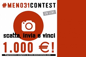 Photocontest Menotrentuno 2016