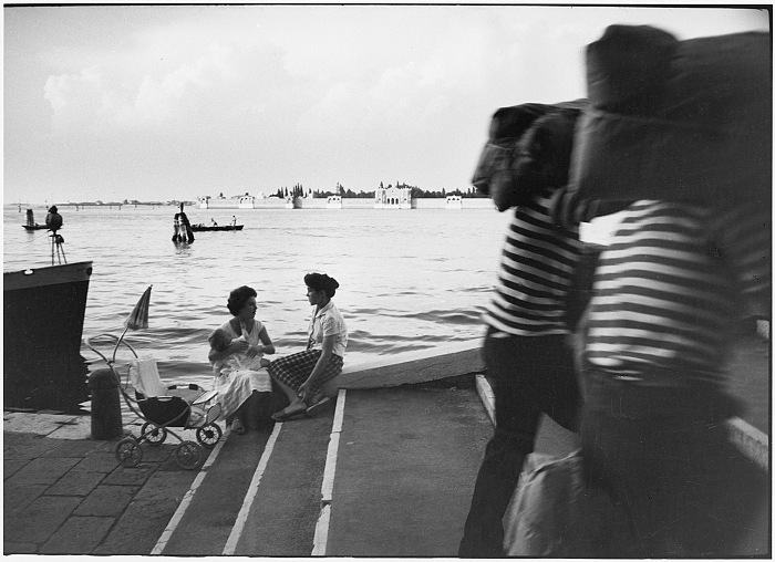 Willy Ronis, Fondamente Nuove, Venise, 1959. Willy Ronis, Ministère de la Culture / Médiathèque de l'architecture et du patrimoine / Dist RMN-GP © Donation Willy Ronis