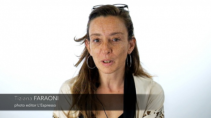 Tiziana Faraoni, photo editor L'Espresso, comitato scientifico FotoLeggendo 2016