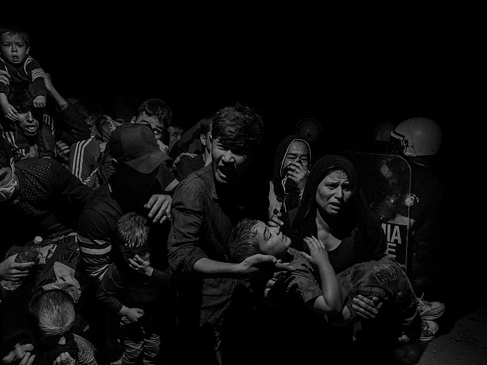 From the exhibition Migranesimo by Alex Majoli. © Alex Majoli.