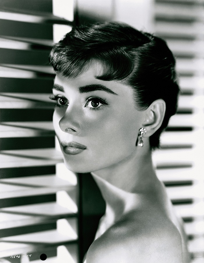 Audrey Hepburn by Bud Fraker for Sabrina Fair, 1954. Paramount Pictures. © John Kobal Foundation.