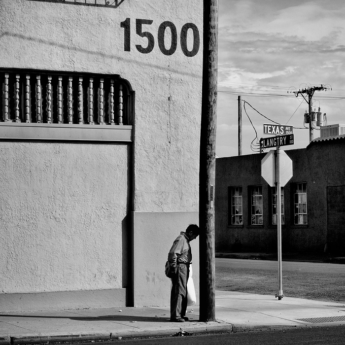 Matt Black, Warehouse district. El Paso, Texas. © Matt Black/Magnum Photos