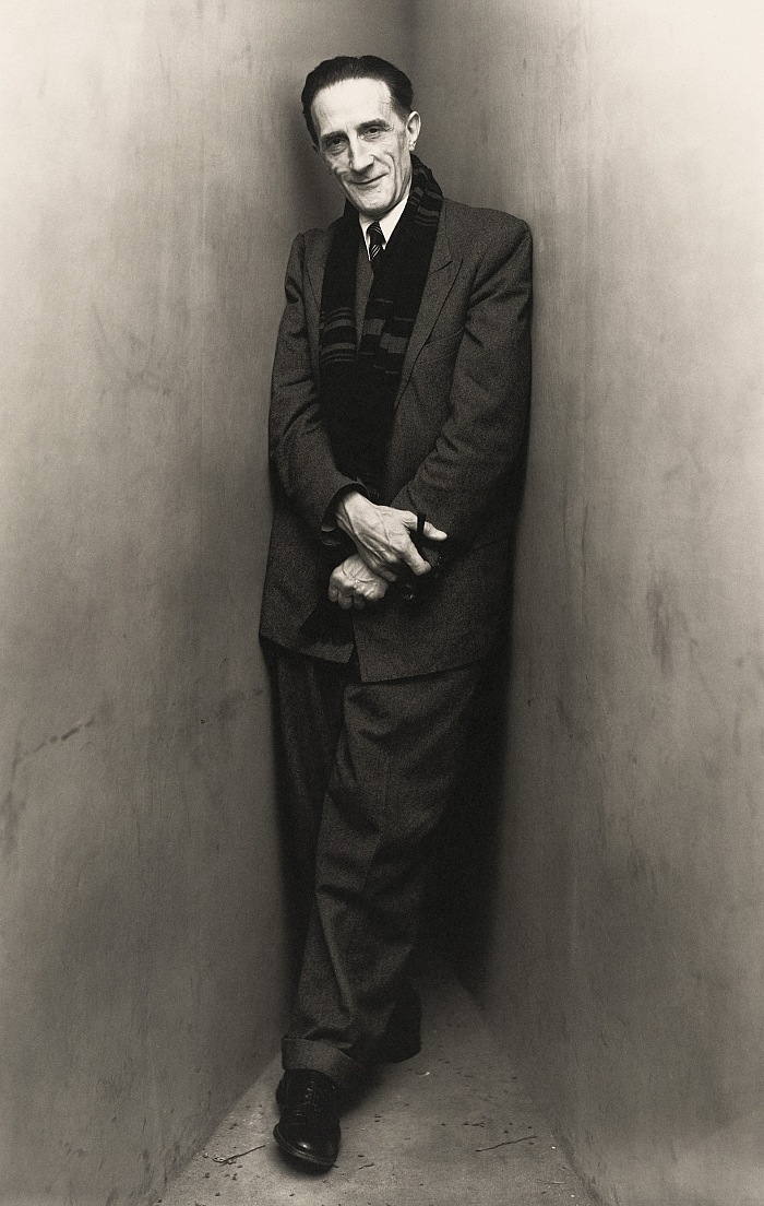 Irving Penn, Marcel Duchamp (2 of 2), New York, 1948. © The Irving Penn Foundation
