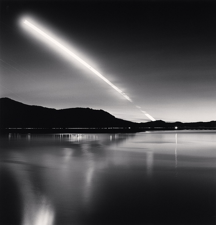 Michael Kenna, Moon Set, Campotosto Lake, Abruzzo, Italy, 2015. © Michael Kenna