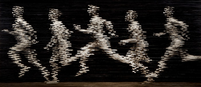 Stephane Graff, Running man, 2017. 