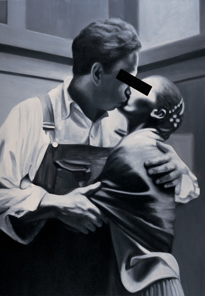 Stephane Graff, The Kiss, 2005. 