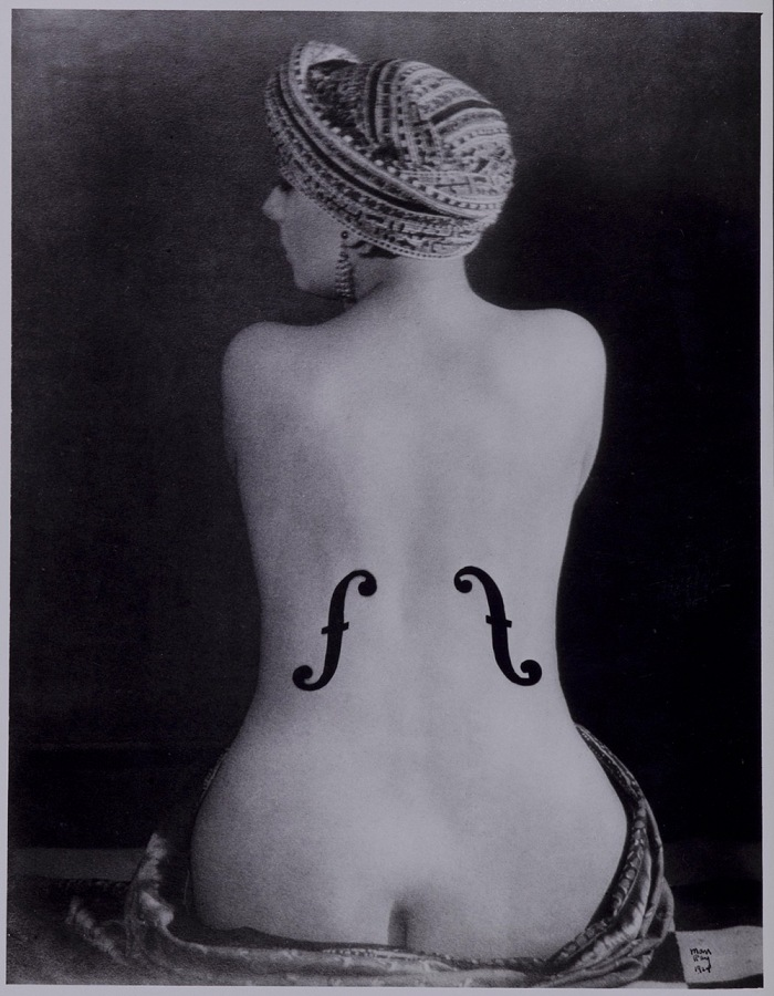 Man Ray, Violon d'Ingres (Kiki), 1924. Fotografia / photograph new print, 1980. © Man Ray Trust by SIAE 2018
