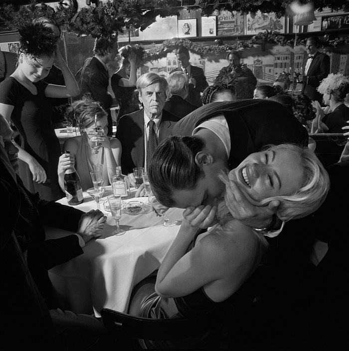 Larry Fink, Fashion Detour, Plimpton. © Larry Fink
