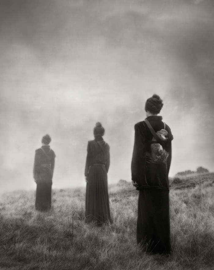 Beth Moon, Three Figures. © Beth Moon