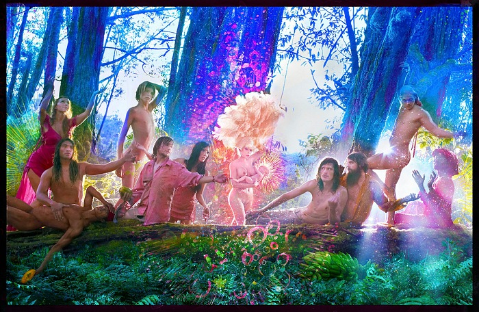 David LaChapelle, The First Supper, 2017. © David LaChapelle