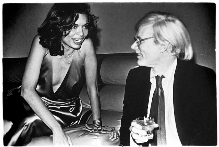 Anton Perich, Andy Warhol and Bianca Jagger. © Anton Perich