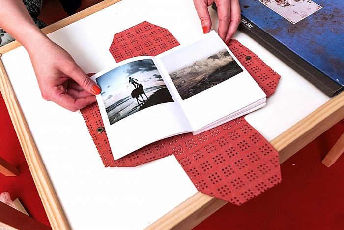 Il dummy book del progetto Make a wish di Loulou d'Aki, vincitrice del Photobook Review and Prize 2017