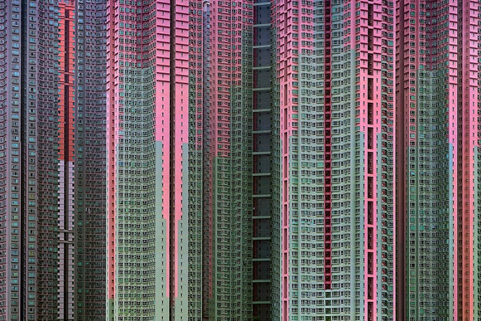 Michael Wolf, dalla serie Architecture of Density, Hong Kong, 2003-2014. © Michael Wolf