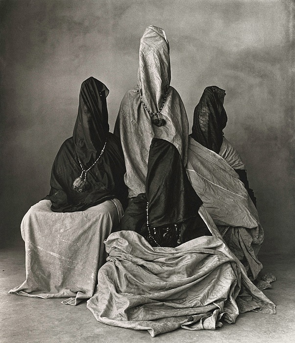 Irving Penn, Four Guedras, Morocco, 1971. © The Irving Penn Foundation