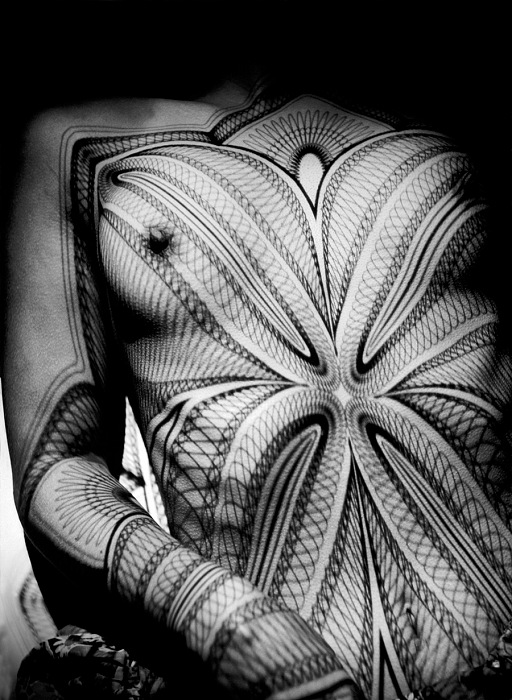 Werner Bischof, Nude. Breast with grid, Zurich, Switzerland, 1941. © Werner Bischof/Magnum Photos