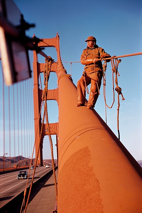 Werner Bischof, Golden Gate Bridge, San Francisco, California, USA, 1953. © Werner Bischof/Magnum Photos