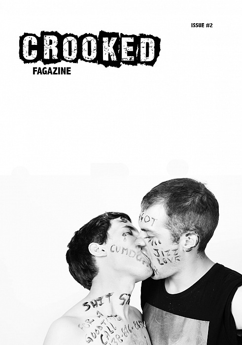 Crooked fagazine, issue 2. Foto: © Jordan Coulombe