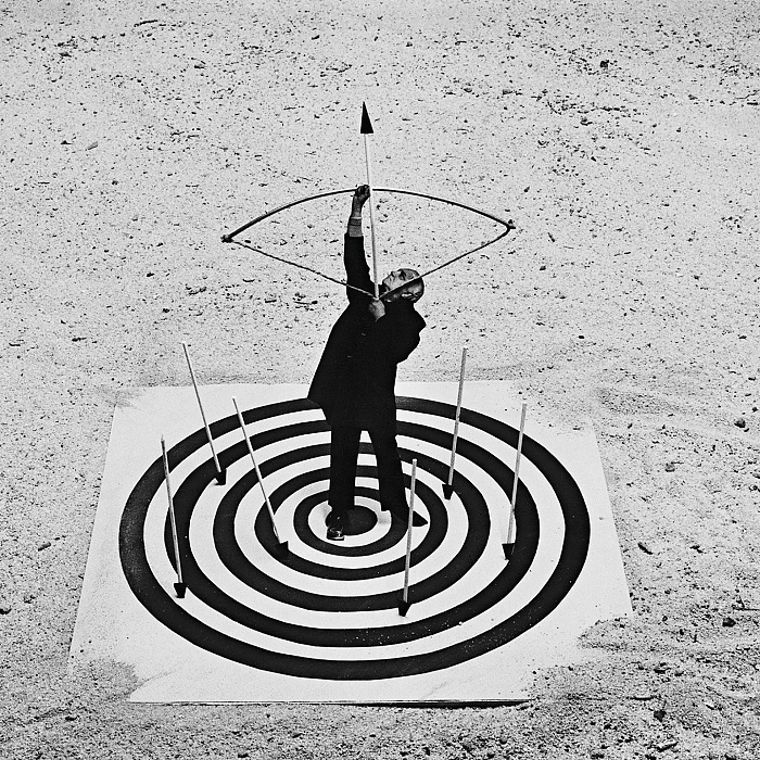 Gilbert Garcin, Mister G, life is surreal. © Gilbert Garcin.