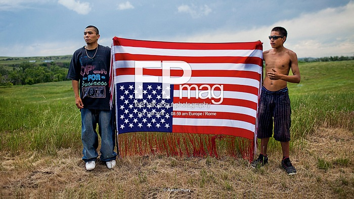 From the exhibition Mitakuye Oyasin by Aaron Huey, exposed at Festival della Fotografia Etica 2016, Lodi, October, 8th - 30th 2016.