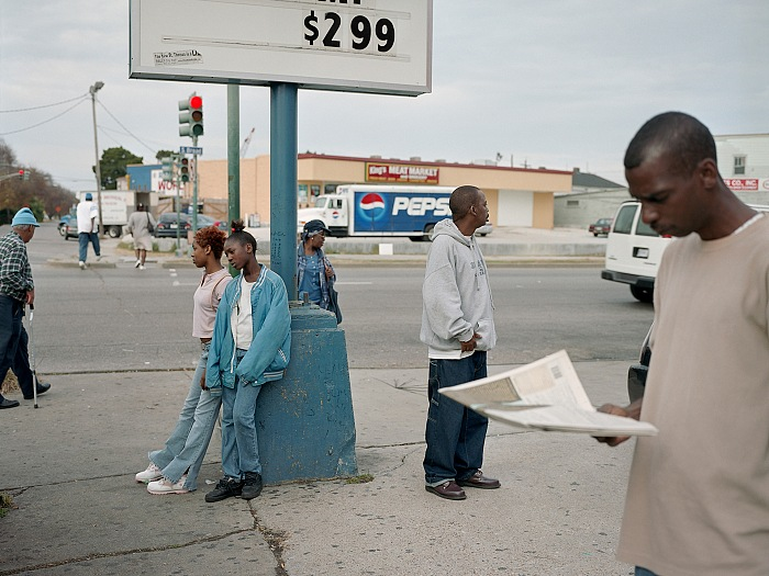 Paul Graham, New Orleans, dalla serie A shimmer of possibility, 2003-2006. Courtesy of the Pace/MacGill Gallery, New York; Carlier | Gebauer, Berlin; Anthony Reynolds Gallery, London.