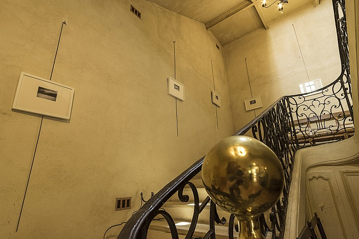 The staircase, which leads from the hall on the ground floor up to the first floor. © Domenico Veneziano