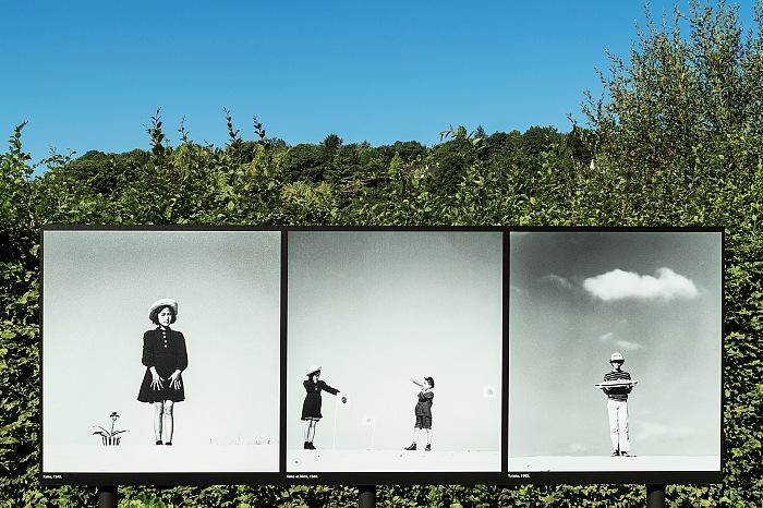 Un momento della visita alla mostra Un regard poétique di Shōji Ueda. © FPmag.