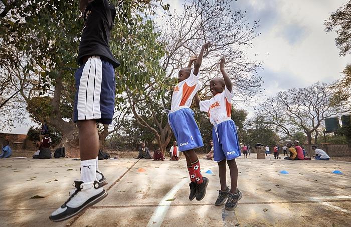Dalla serie Slums Dunk di Simone Raso. © Simone Raso