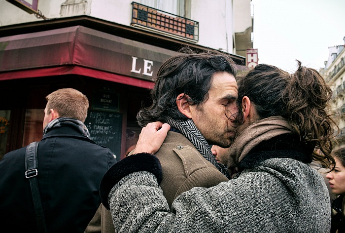 Giuseppe Carloni e Luigi Loretoni, dalla mostra Parigi il giorno dopo. © Giuseppe Carloni e Luigi Loretoni.