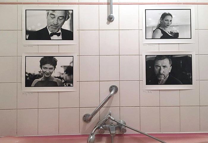 I ritratti di Patrice Terraz esposti nella Chambre des Amis all'Espace Commun. © Valeria Battaglia/FPmag.