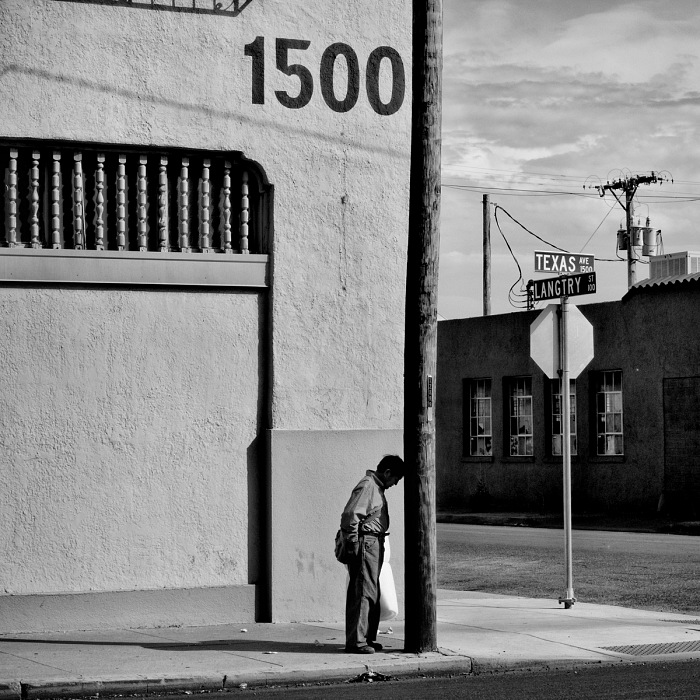 Matt Black, Zona industriale. El Paso, Texas. © Matt Black/Magnum Photos.