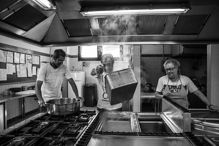 Simona Malattia, In cucina, Lodi. © Simona Malattia.