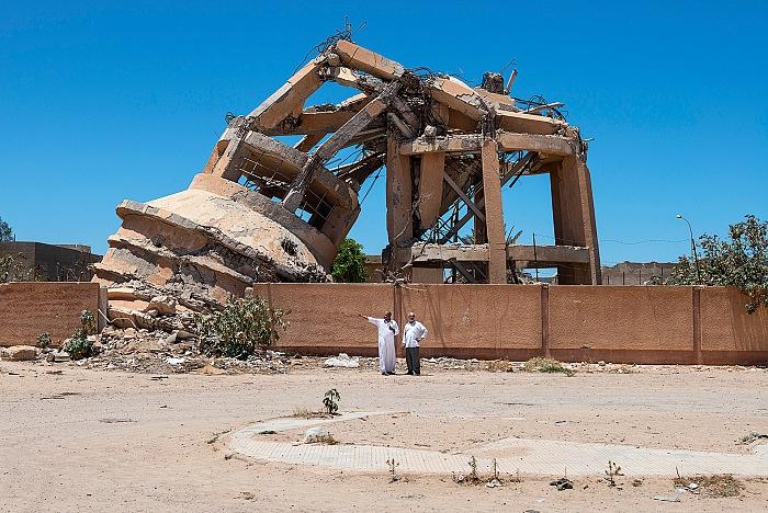Nick Hannes, Libya, dalla mostra Mediterranean. The continuity of man. © Nick Hannes/Cosmos/Luz.