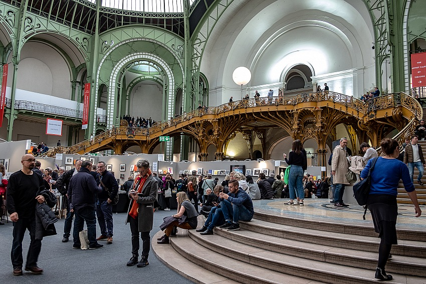 Salvo Veneziano, Paris Photo 2018, Grand Palais, Parigi. © Salvo Veneziano/FPmag.
