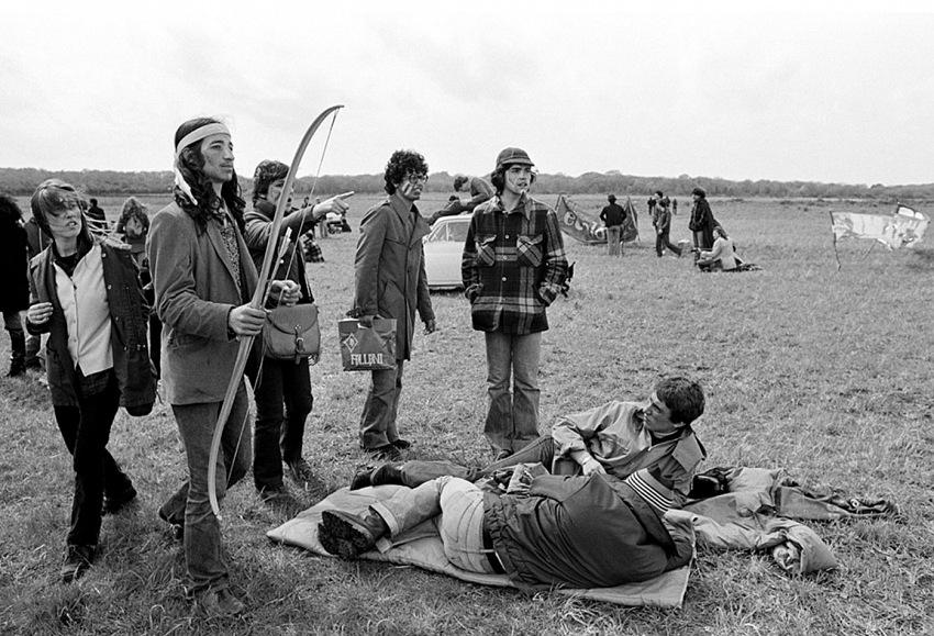 Fausto Giaccone, Protesta a Montalto di Castro, 1977. © Fausto Giaccone.