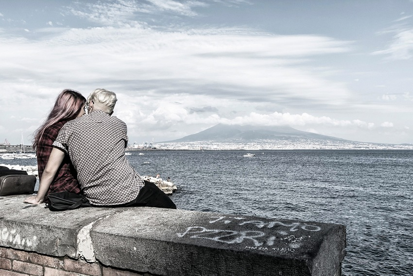 Gianni Maffi, 7458 Km, Napoli. © Gianni Maffi.