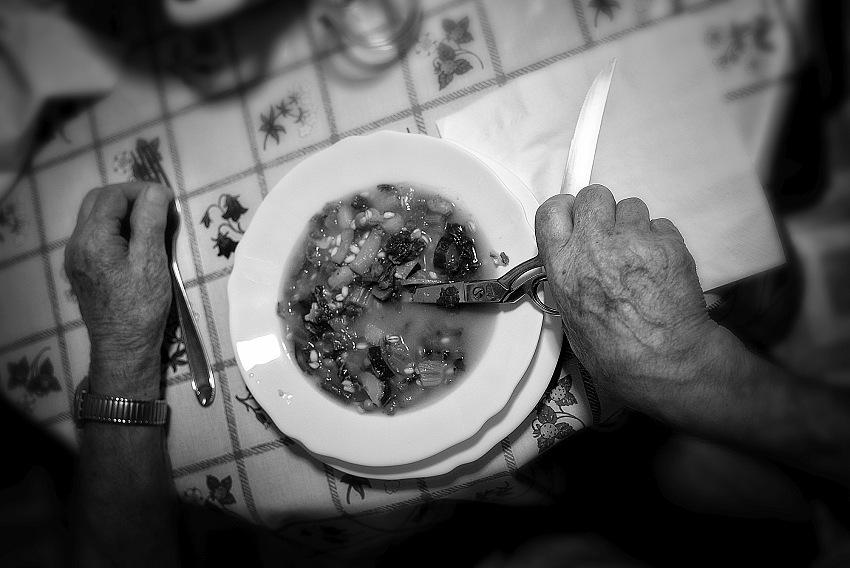 Pietro Collini, Aprassia dell'alimentazione. © Pietro Collini.