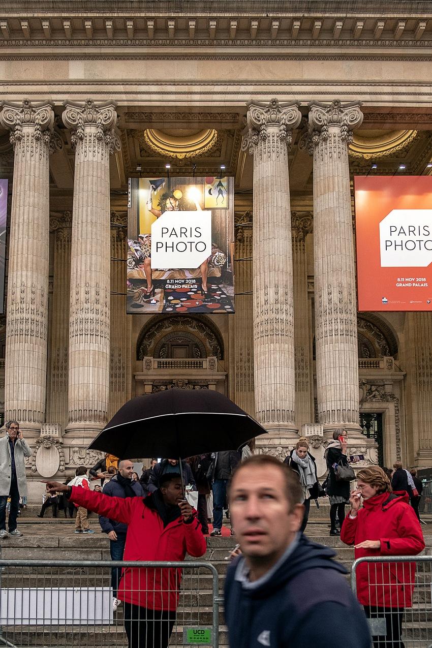 Salvo Veneziano, L'ingresso del Grand Palais che ospita l'edizione 2018 di Paris Photo. © Salvo Veneziano/FPmag.