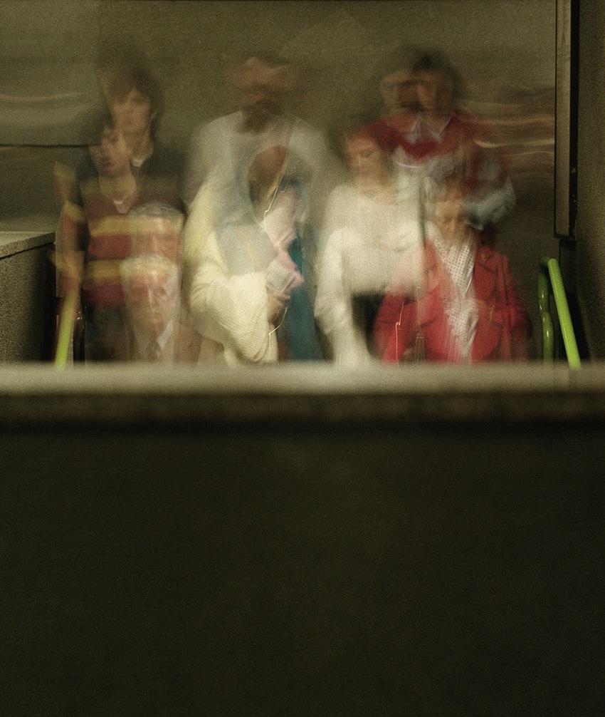 Giovanni Ziliani, Metropolitana milanese, Linea Gialla/Milano Subway, Yellow Line. © Giovanni Ziliani.