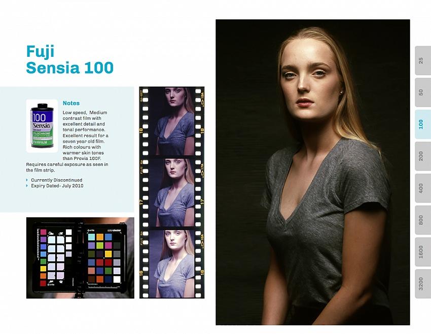 La versione cartacea di Flavr costa meno di 50 Sterline, per ciascuna pellicola oltre alla foto test, è presente una breve storia e altre immagini con color checker e forchette d'esposizione.