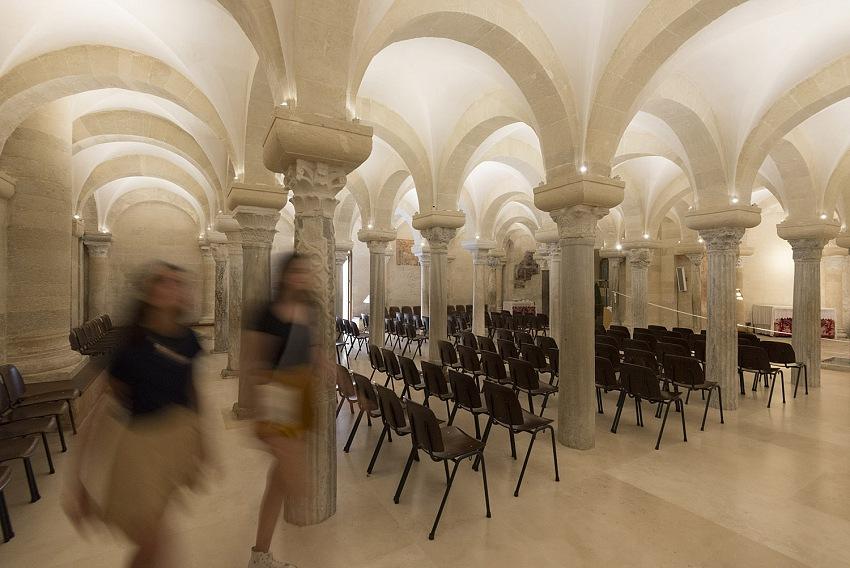 Pio Tarantini, Cripta della Cattedrale, Otranto, 2019. © Pio Tarantini.